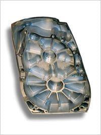 Getriebegehäuse für hochbeanspruchte Krangetriebe